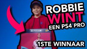 Robbie wint